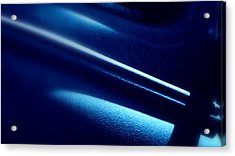 Acrylic Print featuring the photograph Blues.. by Al Swasey