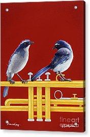 blues and Jazz... Acrylic Print