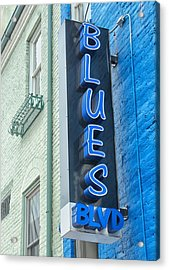 Blues Blvd Acrylic Print by Blaine Owens Photography