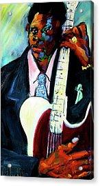 Blues Boy Acrylic Print