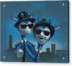 Blues Boys Acrylic Print