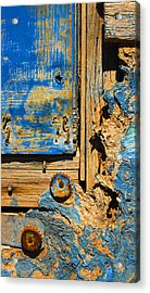 Blues Dues Acrylic Print by Skip Hunt