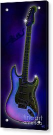 Acrylic Print featuring the digital art Blues  by Nick Gustafson