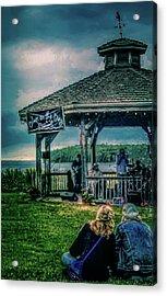 Blues On The Bay Acrylic Print