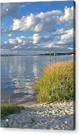 Blues Skies Of The Cape Fear River Acrylic Print