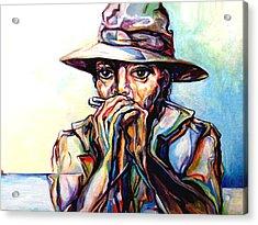 Blues Traveler  Acrylic Print by Lloyd DeBerry