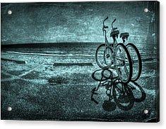 Bluescape Acrylic Print by Evelina Kremsdorf