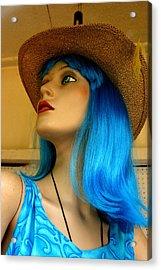 Bluewn Away Acrylic Print by Jez C Self