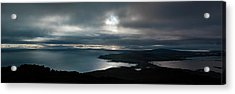 Acrylic Print featuring the photograph Bluff Panorama by Odille Esmonde-Morgan