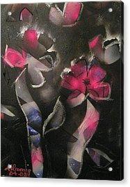 Blumen Aus Berlin Acrylic Print by Andrea Noel Kroenig