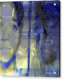 Blurism And Reflecting Shadow Acrylic Print