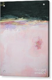 Blush Seduction Abstract Art Print Acrylic Print