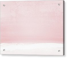 Blush Sunset- Art By Linda Woods Acrylic Print
