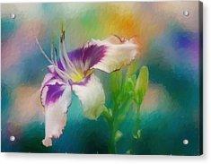 Blushing Acrylic Print