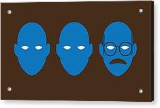 Bluth Man Group Acrylic Print