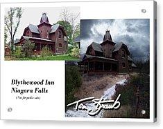 Blythewood Inn Acrylic Print by Tom Straub