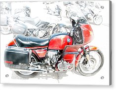 Acrylic Print featuring the photograph Bmw 100 S Airhead by Britt Runyon