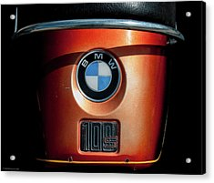 Acrylic Print featuring the photograph Bmw 100 S by Britt Runyon