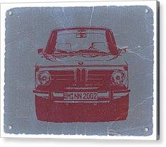 Bmw 2002 Acrylic Print by Naxart Studio