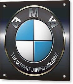 Bmw Logo Acrylic Print