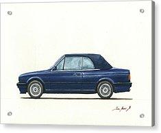 Bmw E30 Cabrio Acrylic Print
