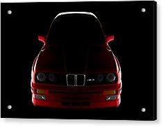 Bmw M3 E30 - Front View Acrylic Print