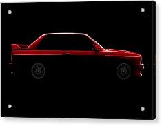 Bmw M3 E30 - Side View Acrylic Print