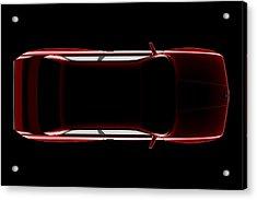 Bmw M3 E30 - Top View Acrylic Print