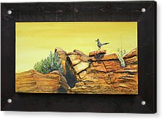 Bneep Bneep Acrylic Print by Gregory Peters
