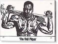 Bo Jackson The Ball Player Acrylic Print