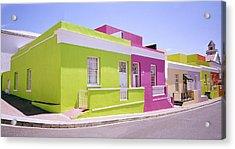 Bo Kaap Color Acrylic Print by Shaun Higson
