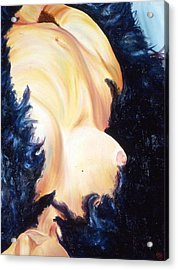 Boa Constrict Her Acrylic Print by LB Zaftig