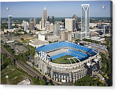 Boa Stadium In Charlotte Acrylic Print by Clear Sky Images