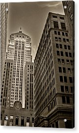 Board Of Trade Acrylic Print