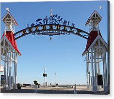 Boardwalk Arch At N Division St Acrylic Print