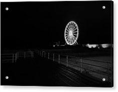 Boardwalk Beach Amusement Acrylic Print