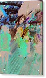 Boardwalk Buzz Acrylic Print by Paul Autodore