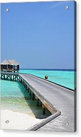 Boardwalk In Paradise Acrylic Print