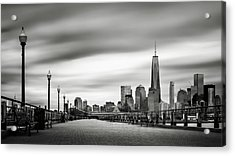 Boardwalk Into The City Acrylic Print