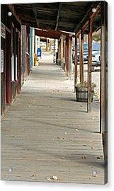 Acrylic Print featuring the photograph Boardwalk by Lynn Bawden
