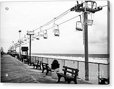 Boardwalk Ride Acrylic Print by John Rizzuto