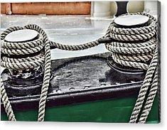 Boat Detail Acrylic Print