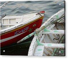 Boat Eye Acrylic Print by James Lukashenko