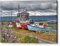 Boat Graveyard Acrylic Print