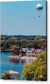 Boat House Row Acrylic Print