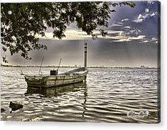 Acrylic Print featuring the photograph Boat In The Water by William Havle