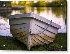 Boat On Land Acrylic Print
