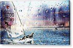 Boat On The Sea Acrylic Print