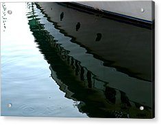 Boat  Reflection - Image 2 - Ver. 2 Acrylic Print