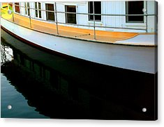 Boat  Reflection - Image 5 - Ver. 2 Acrylic Print